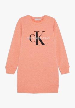 Calvin Klein Jeans - MONOGRAM SWEATSHIRT DRESS - Robe d'été - pink