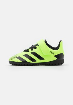adidas Performance - PREDATOR 20.4 FOOTBALL TURF UNISEX - Fußballschuh Multinocken - signal green/core black
