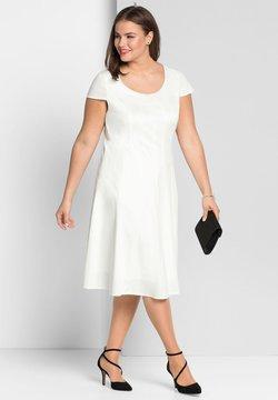 Sheego - Cocktailkleid/festliches Kleid - offwhite