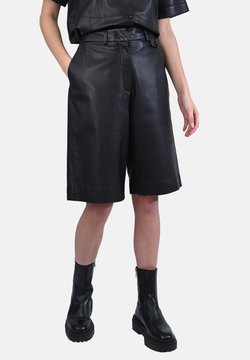Oakwood - CITY - Lederhose - black