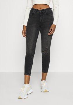 Vero Moda Petite - VMHANNA - Jeans Skinny Fit - dark grey denim