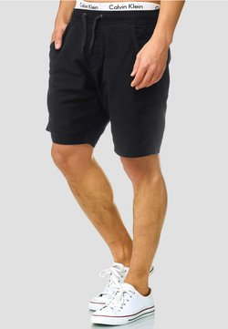 INDICODE JEANS - REGULAR FIT - Shorts - black