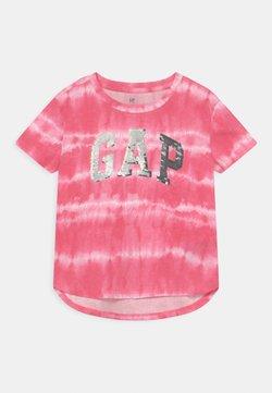 GAP - GIRL LOGO - T-Shirt print - pink