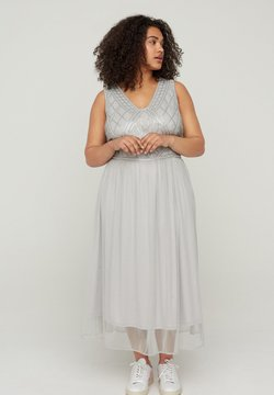 Zizzi - Cocktailkleid/festliches Kleid - grey
