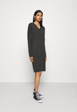 Vero Moda - VMIVA - Strikkjoler - dark grey/black