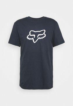 Fox Racing - LEGACY HEAD TEE - T-shirt print - blue