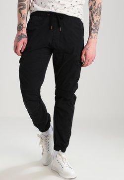 INDICODE JEANS - LEVI - Cargo trousers - black