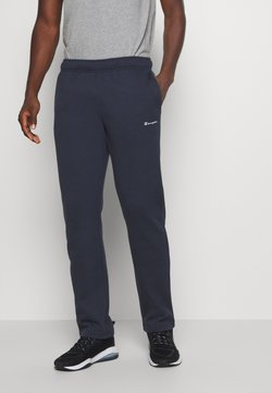 Champion - LEGACY STRAIGHT HEM PANTS - Verryttelyhousut - dark blue