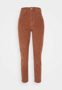 American Eagle - MOM - Trousers - brown