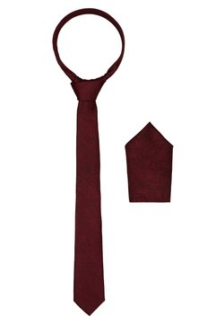 Burton Menswear London - BURG SET - Krawatte - burgundy