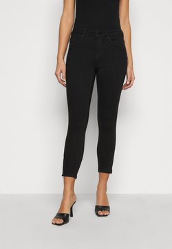 Vero Moda Petite - VMTILDE ZIP - Jeans Slim Fit - black denim