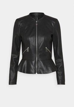 Vero Moda - VMAVERYALLY JACKET - Veste en similicuir - black