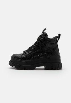 Buffalo - ASPHA MID - Boots à talons - black