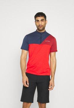 Vaude - TREMALZO IV - T-Shirt print - mars red