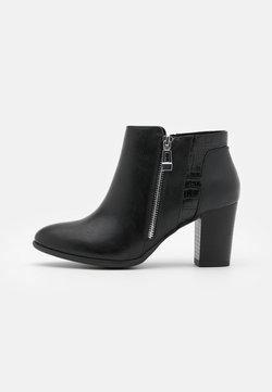 Wallis Wide Fit - WIDE FIT WATERFALL - Korte laarzen - black