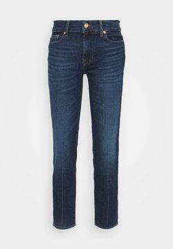 7 for all mankind - ROXANNE ANKLE LUXE VINTAGE POWERTRIP - Straight leg jeans - dark blue