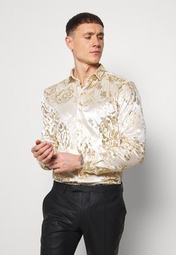 Twisted Tailor - GAINES SHIRT - Skjorter - champagne