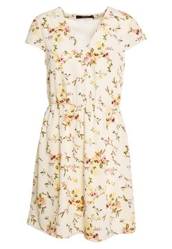 Vero Moda - VMKISSEY CAPSLEEVE SHORT DRESS - Sukienka letnia - birch