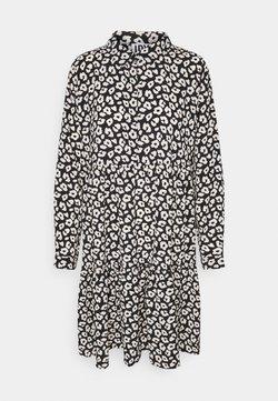 JDY - JDYPIPER DRESS - Skjortekjole - black/tapioca