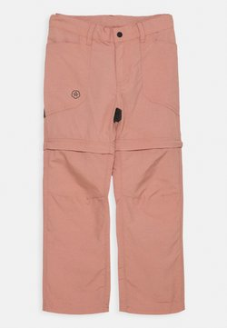 Color Kids - PANTS ZIP OFF UNISEX - Kangashousut - ash rose