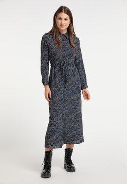 myMo - Vestido camisero - blau