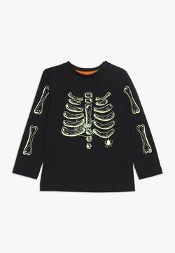 mothercare - BABY HALLOWEEN SKELETON - Langærmede T-shirts - black