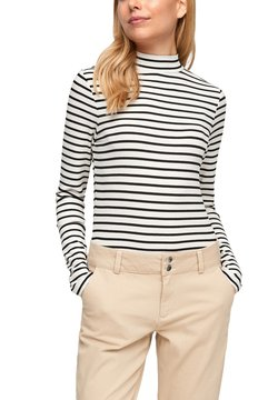 Q/S designed by - Langarmshirt - black stripes
