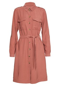 ONLY - ONLACACIA ARIS SHIRT DRESS - Blusenkleid - apple butter