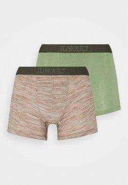 Levi's® - MICRO STRIPE BOXER BRIEF 2 PACK - Panties - green