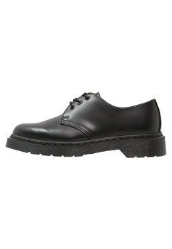 Dr. Martens - 1461 VIRGINIA - Snøresko - mono black