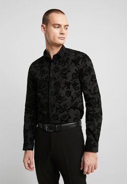 Twisted Tailor - KATRIN FLORAL  - Businesshemd - black