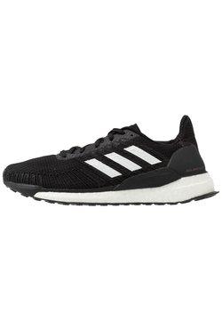 adidas Performance - SOLAR BOOST 19 - Obuwie do biegania treningowe - core black/footwear white/signal pink