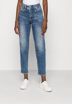 Herrlicher - GILA HI CONIC RECYCLED - Jeans slim fit - retro marvel