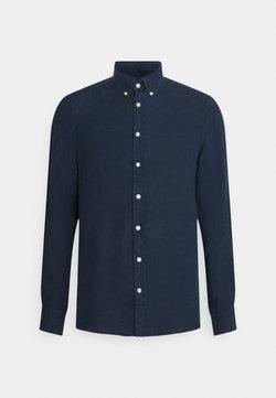 Hackett London - GARMENT DYE - Koszula - dark blue