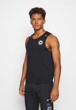 Nike Performance - MILER TANK - Camiseta de deporte - black/sail/silver