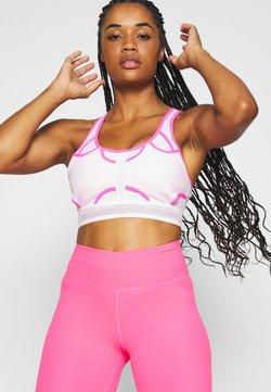 Nike Performance - ULTRABREATHE BRA - Sport BH - pink foam/hyper pink/black