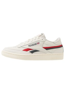 Reebok Classic - CLUB REVENGE - Sneaker low - chalk/vector red/true grey