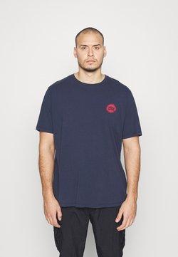 Jack & Jones - JORMIND TEE CREW NECK - T-shirt imprimé - navy blazer