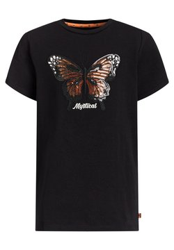 WE Fashion - MEISJES  - T-shirt print - black