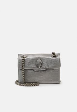 Kurt Geiger London - MINI KENSINGTON BAG - Umhängetasche - gunmetal