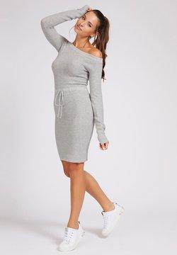 Guess - Gebreide jurk - light grey