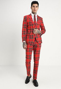 OppoSuits - THE LUMBERJACK - Costume - red/black