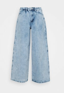 Missguided Petite - BAGGY BOYFRIEND - Jeans Relaxed Fit - light blue