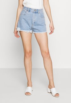 Abrand Jeans - A HIGH RELAXED SHORT - Jeansshort - esmeralda