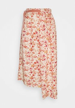 Mother of Pearl - ASYMMETRIC SKIRT WITH GATHERED WAIST - A-Linien-Rock - sepia blossom
