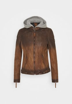 Gipsy - CASCHA LAMOV - Leren jas - antic brown