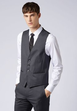 BOSS - WILSON - Gilet elegante - dark grey