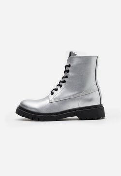 Tamaris - BOOTS - Plateaustiefelette - silver