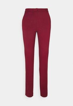 Vero Moda Tall - VMLILITH ANKLE PANT - Broek - cabernet