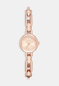 DKNY - ROUND UPTOWN - Montre - rose gold-coloured